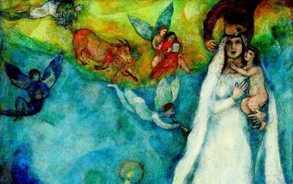 chagall mary